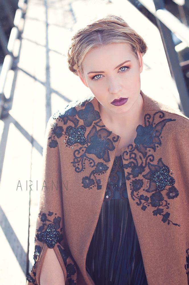 Designer clothing brand photography