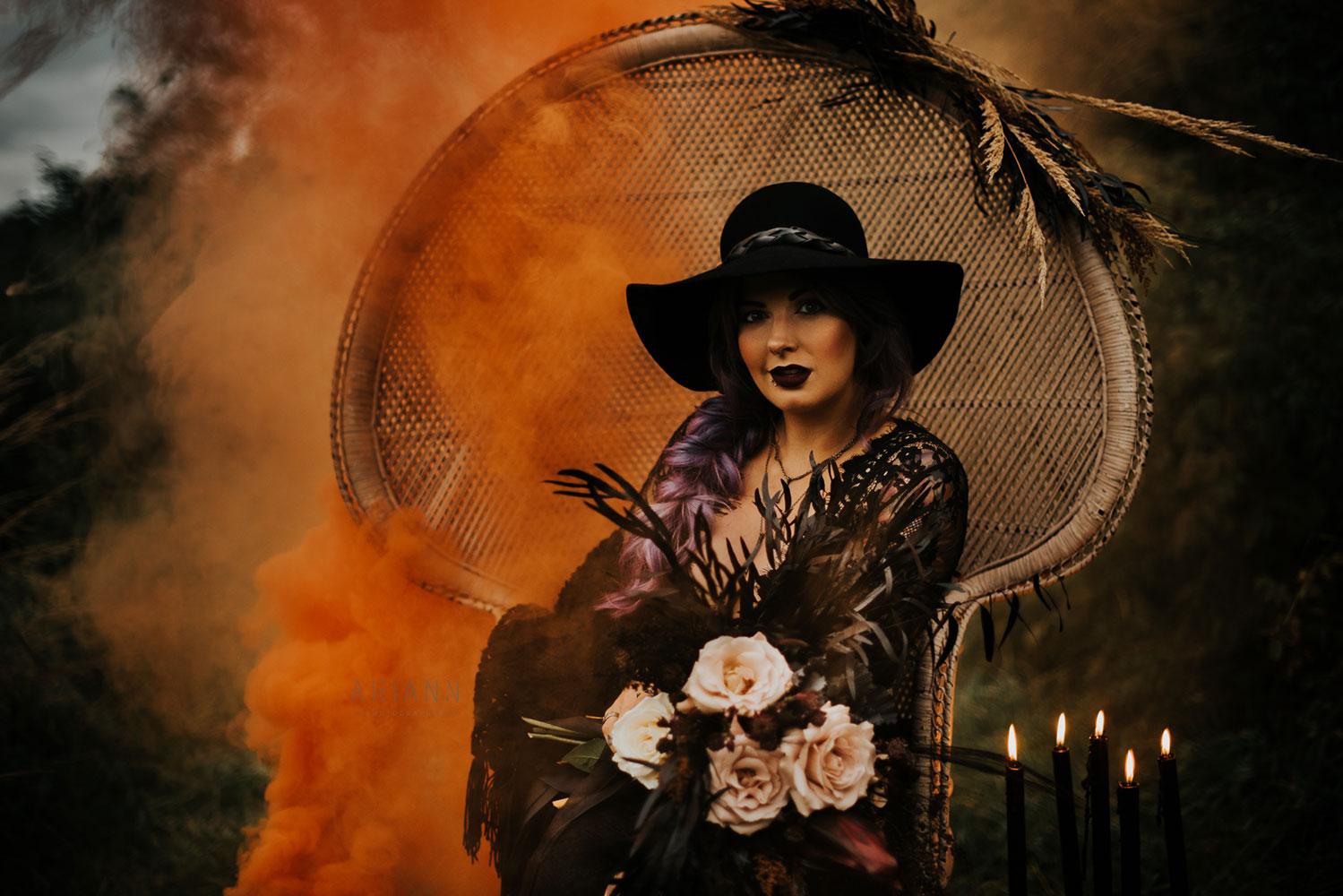 Halloween portrait fantasy