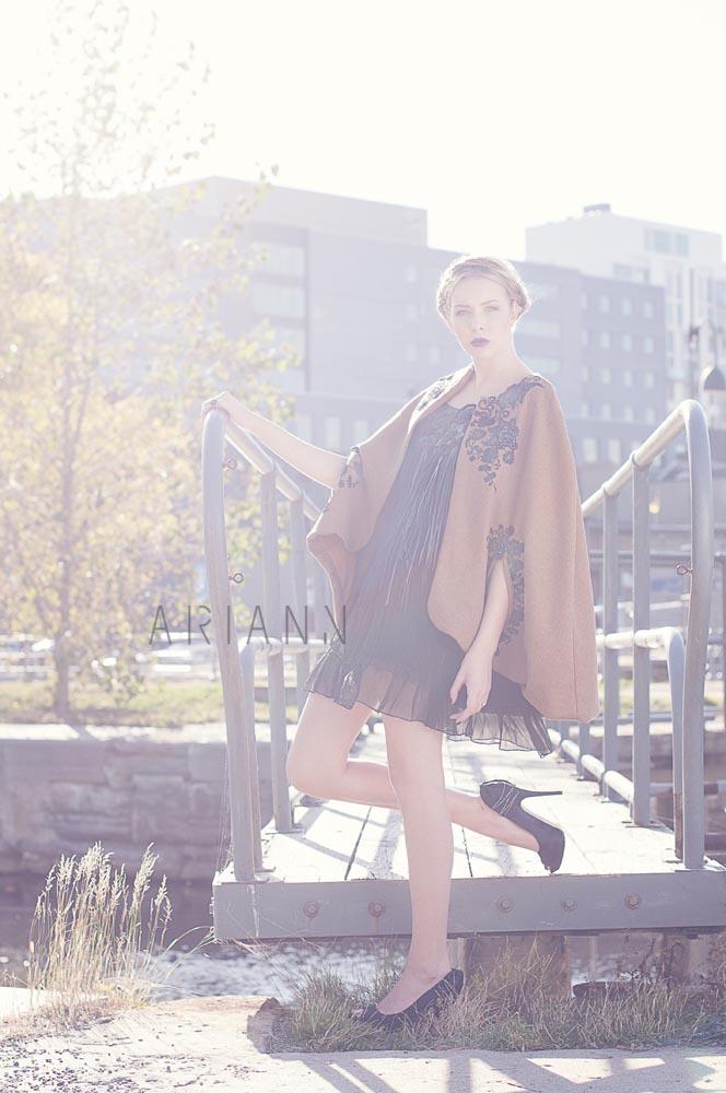 Designer work shot by ariann photographer