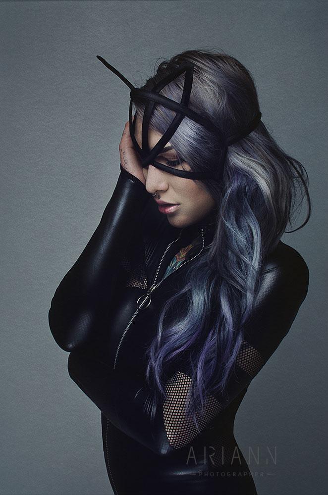 latex dark fashion