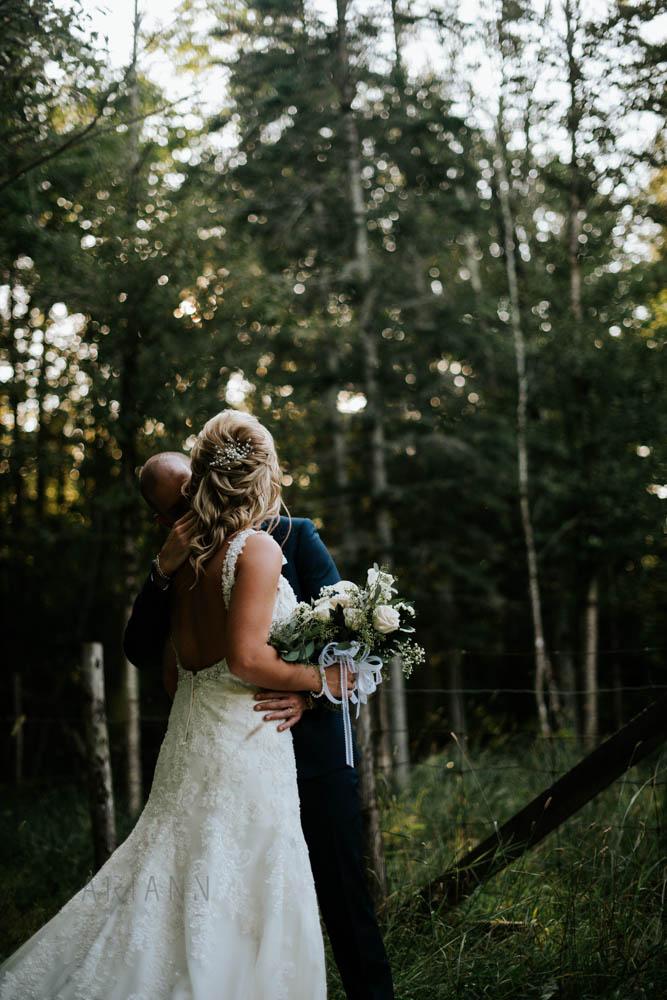 rustic wedding in beauce