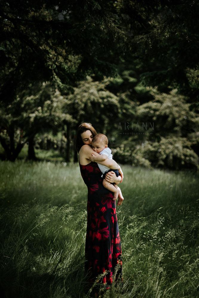 maternité - photo de maman et bébé