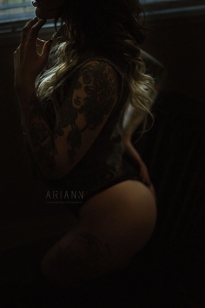 femme en photographie