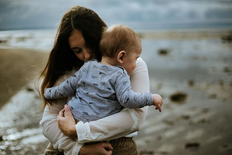 photographie maman bébé