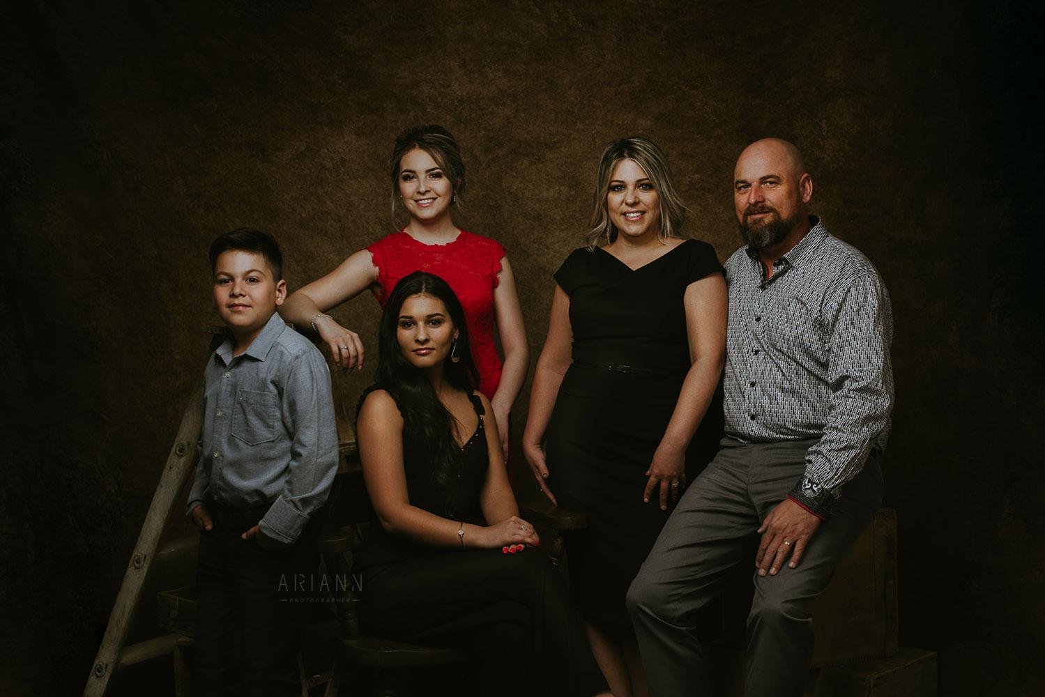 portrait de famille glamour en beauce