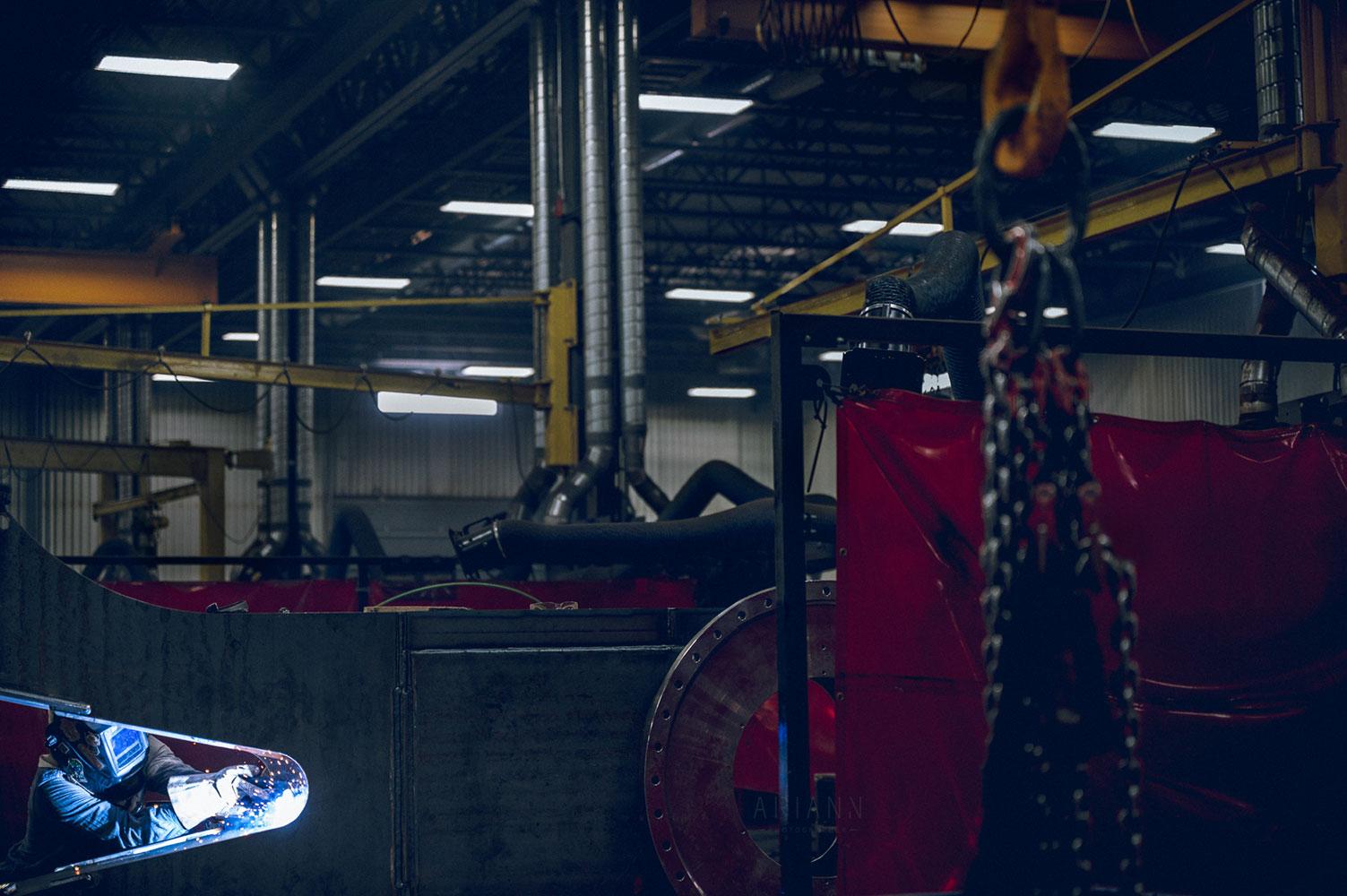 photographie d'usine